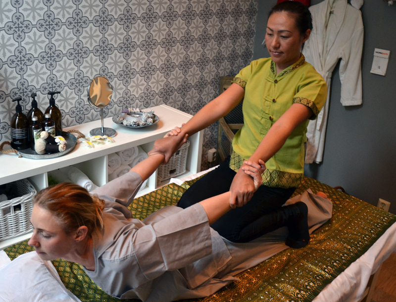 Traditionell Thaimassage